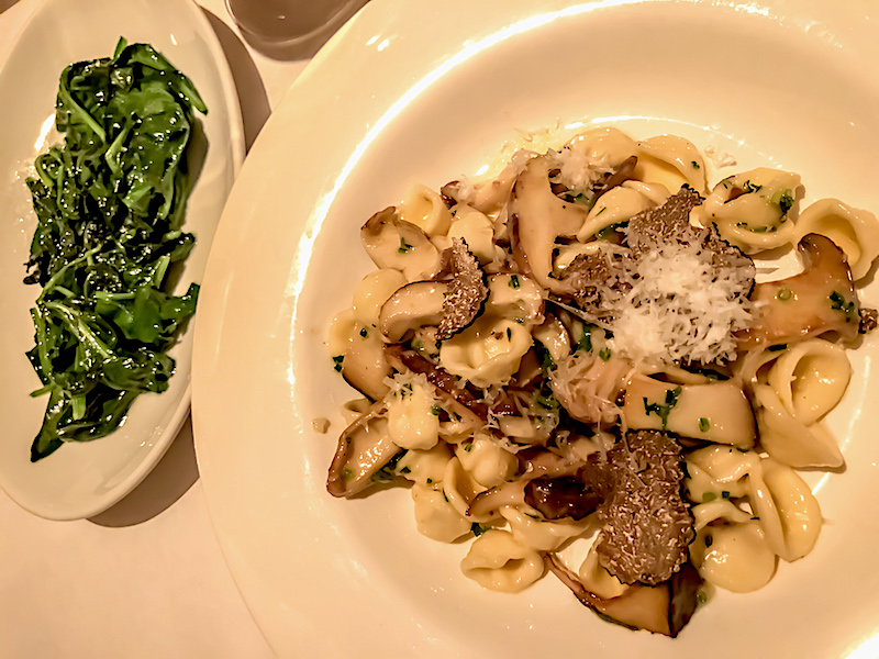 The Monkey Bar New York orecchiette pasta image