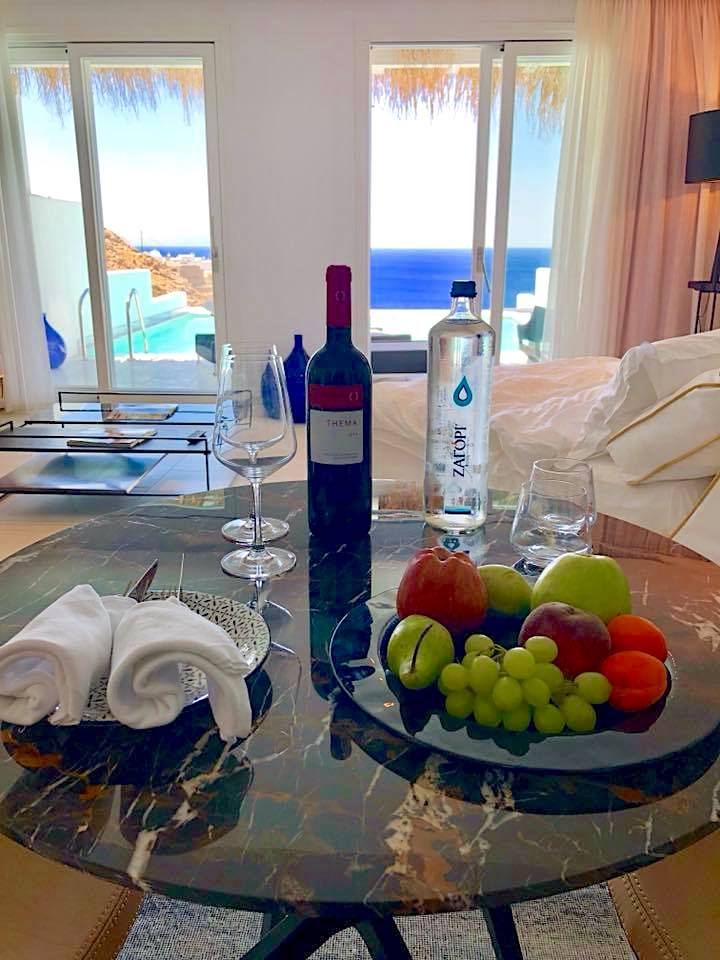 Myconian Villa Collection welcome amenity image