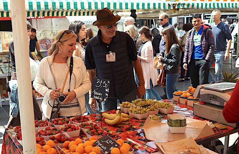 Nice market Cara Goldsbury image