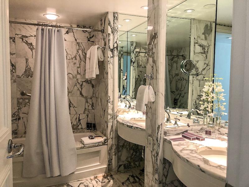 Ritz Carlton Laguna Niguel guest room bath image
