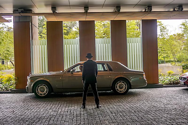 Ritz Carlton Tokyo Rolls Royce Phantom image