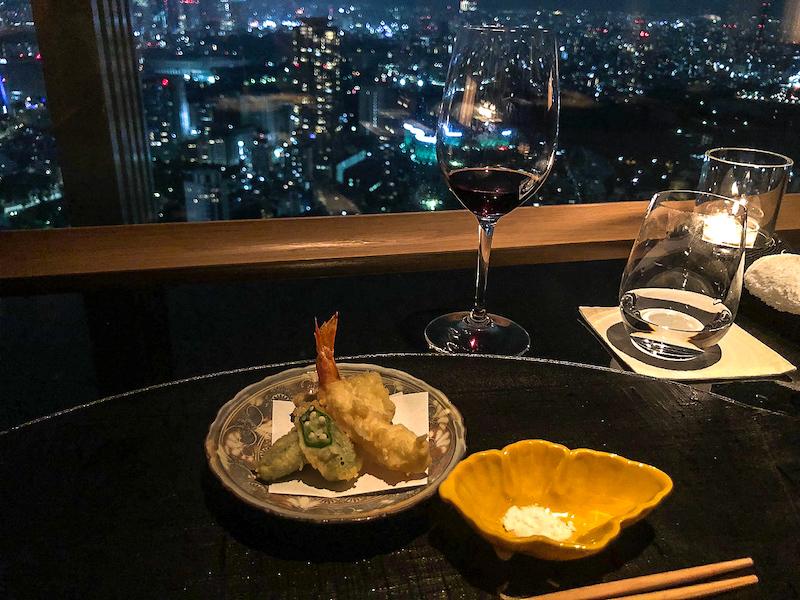Ritz Carlton Tokyo kaiseki dinner image