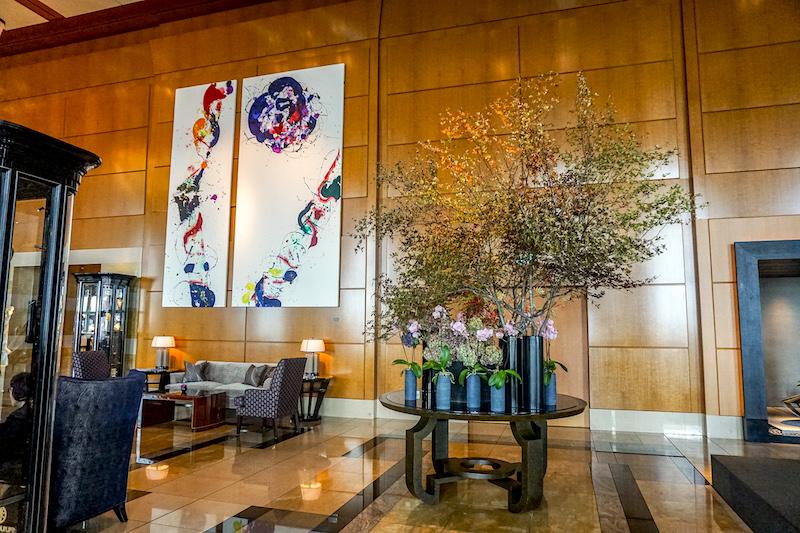 Ritz Carlton Tokyo lobby image
