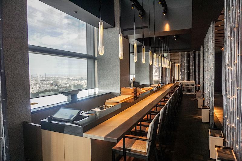Ritz Carlton Tokyo sushi restaurant image