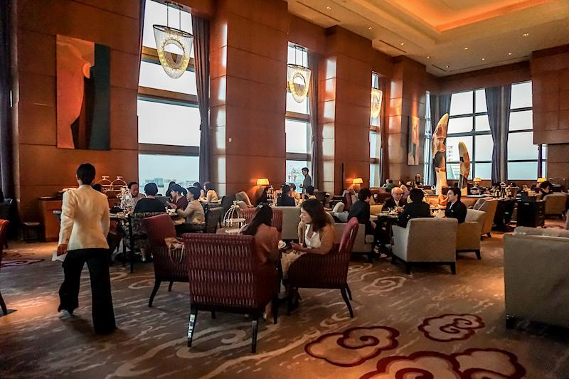 Ritz Carlton Tokyo lobby tea image