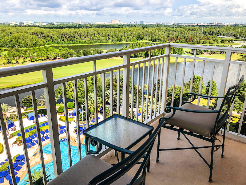 Ritz Carlton Orlando Executive Suite balcony image