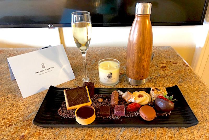 Ritz Carlton Orlando welcome amenity image