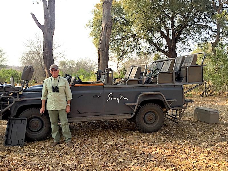 African Safari binoculars image