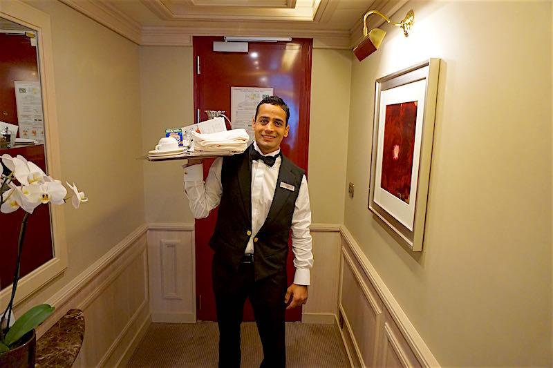 Silver Spirit room service butler image