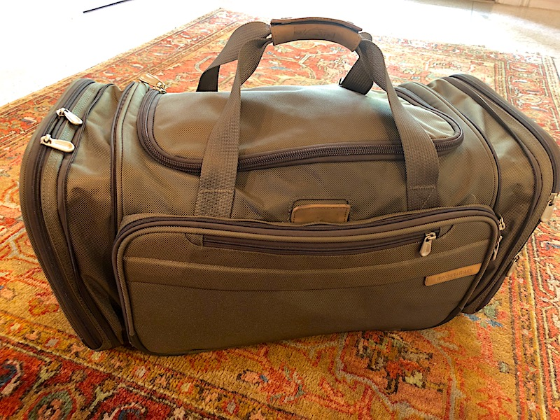 Safari duffel bag image