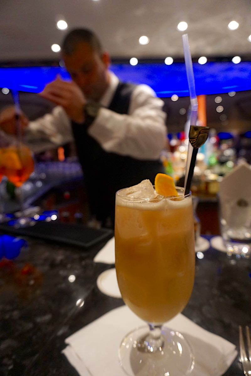 Seabourn Encore Observation Bar drink image