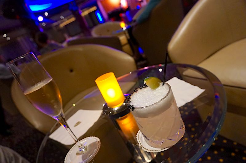 Seabourn Encore The Club drinks image