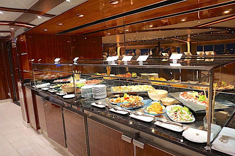 Seabourn Encore Observation Bar tapas image