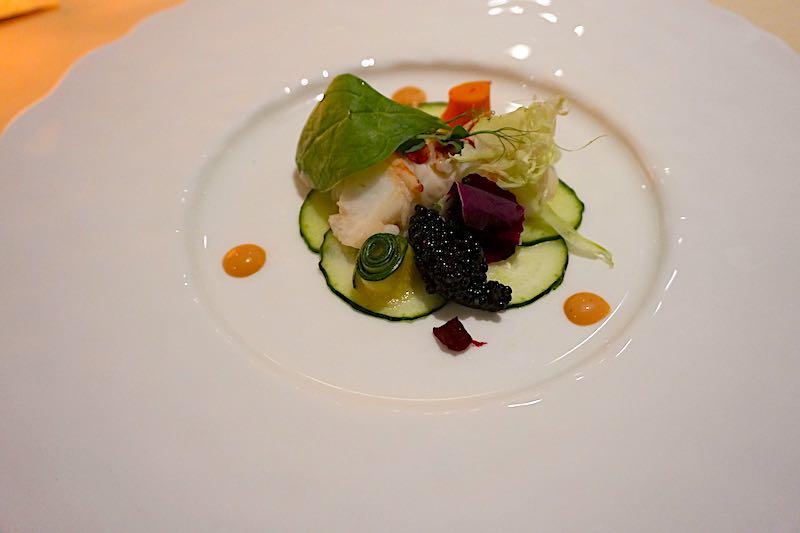 Silver Muse Atlantide lobster salad image