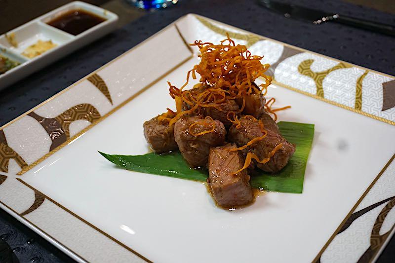 Kaiseki Silver Muse beef tenderloin image