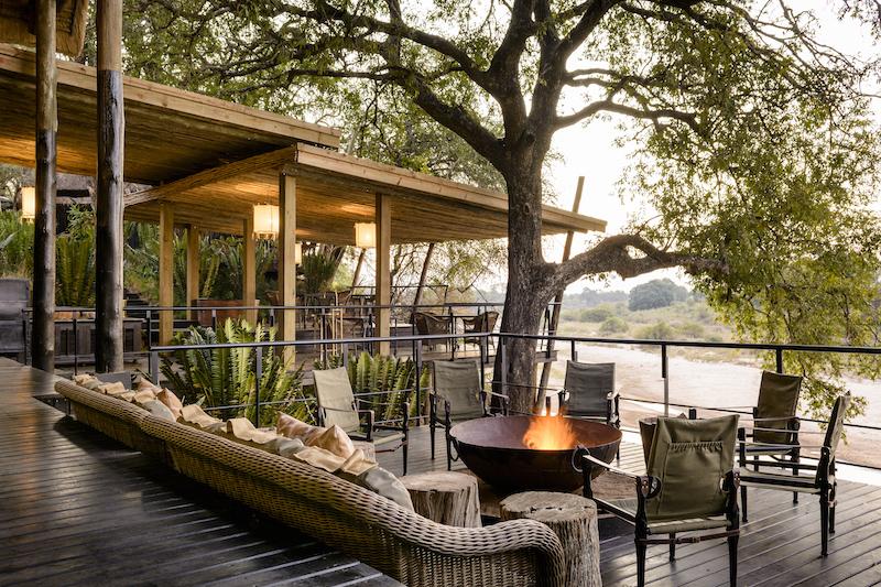 Singita Ebony outdoor terrace image