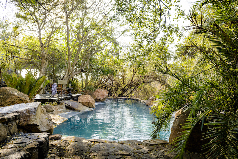 Singita Ebony pool image