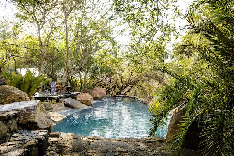 Singita Ebony pool image