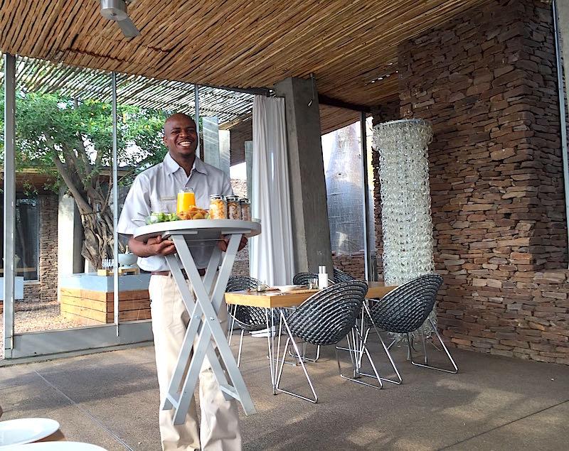 Singita Lebombo waitstaff image