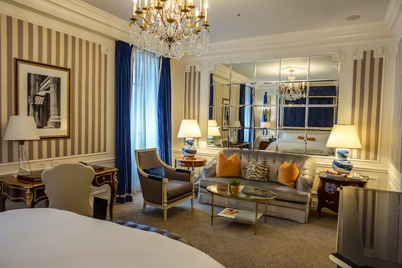 St Regis New York Grand Luxe guest room image