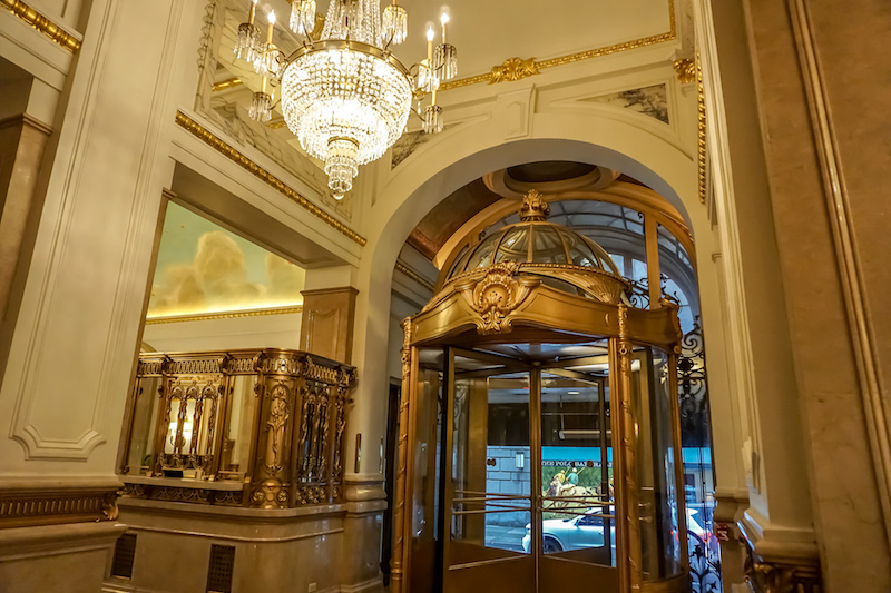 St Regis New York lobby image