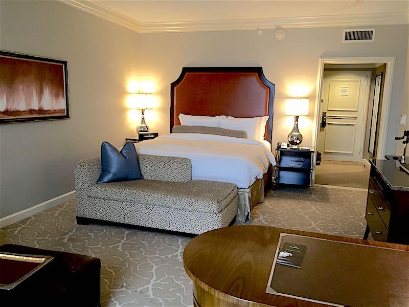 st regis houston deluxe guest room image