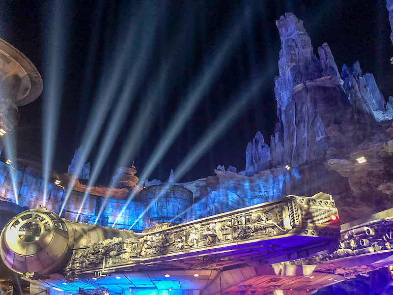Star Wars Galaxy's Edge Millenium Falcon image
