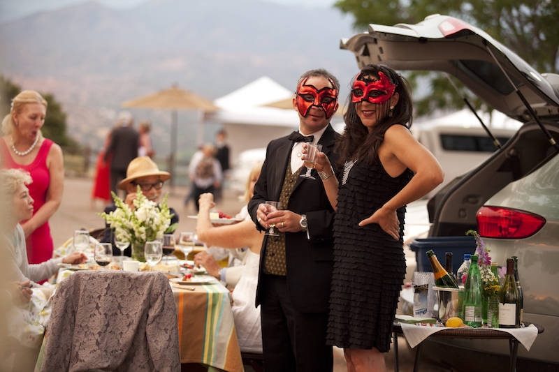 Santa Fe Opera tailgaiting by Kate Russell