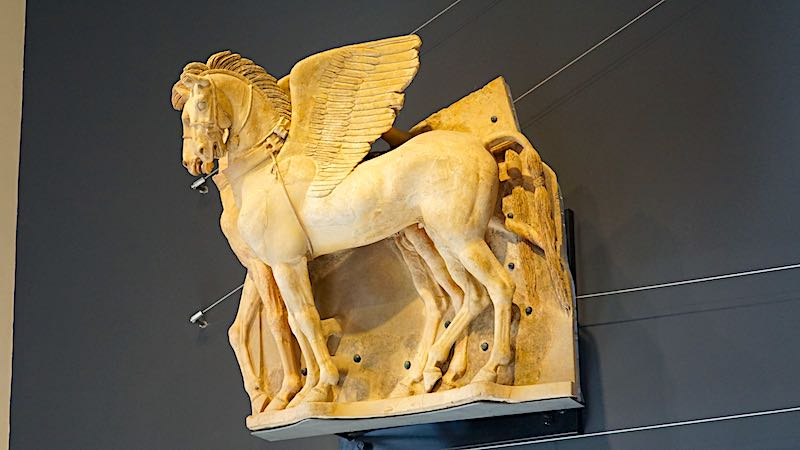 National Archaeological Museum Tarquinia winged horses image