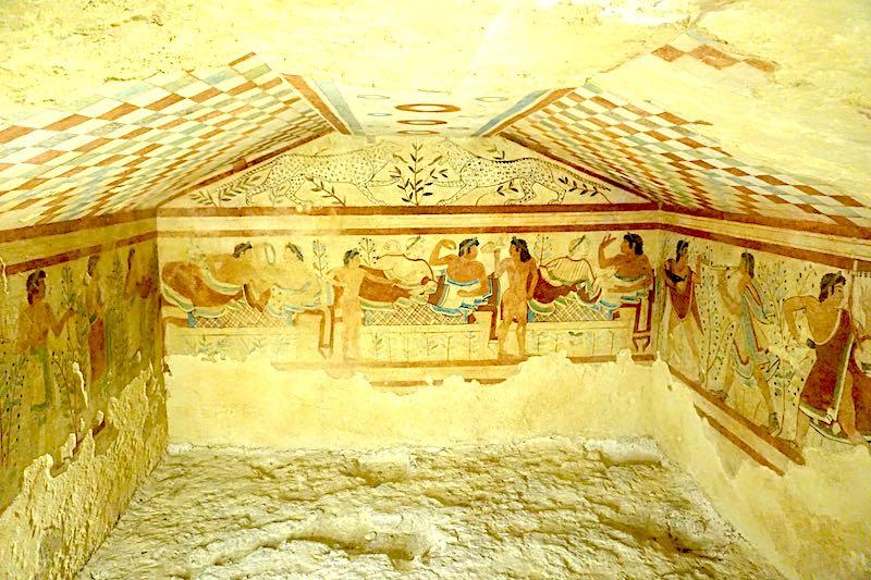 Tarquinia Etruscan tomb image
