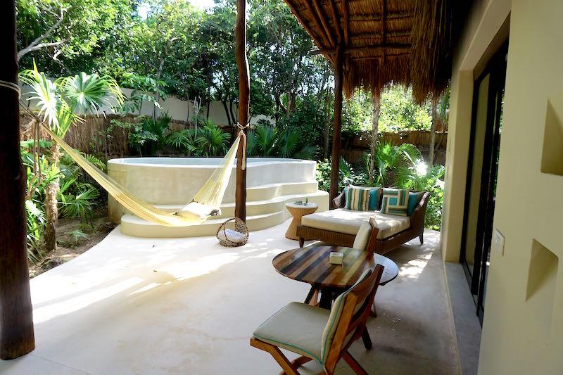 Viceroy Riviera Maya villa patio image