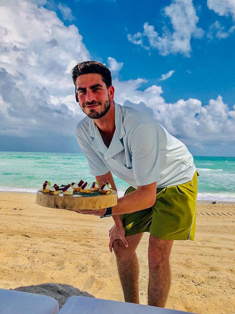 Four Seasons, The Surf club beach staff image