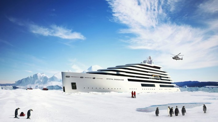 Crystal Cruises to Build Polar Yacht