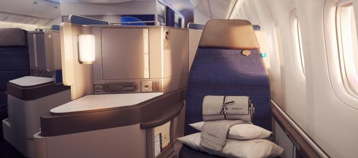 United Airlines Unveils Polaris Business Class