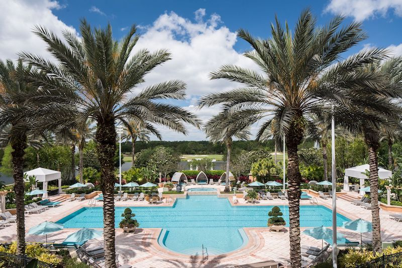 Ritz Carlton Grande Lakes Orlando pool image
